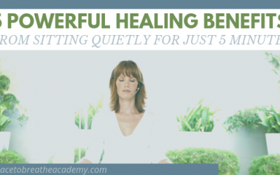 5 Powerful Healing Benefits From Sitting Quietly For Just 5 Minutes