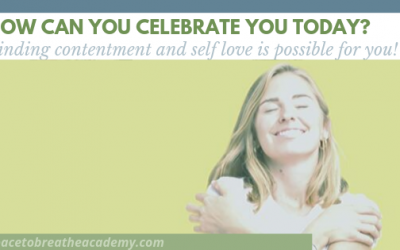 How can you celebrate YOU today?