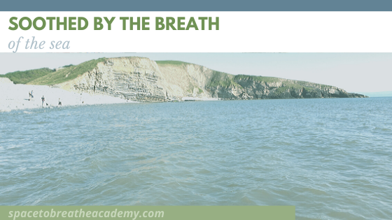 soothed by the breath of the sea - a view of the sea at southerndown dunraven bay