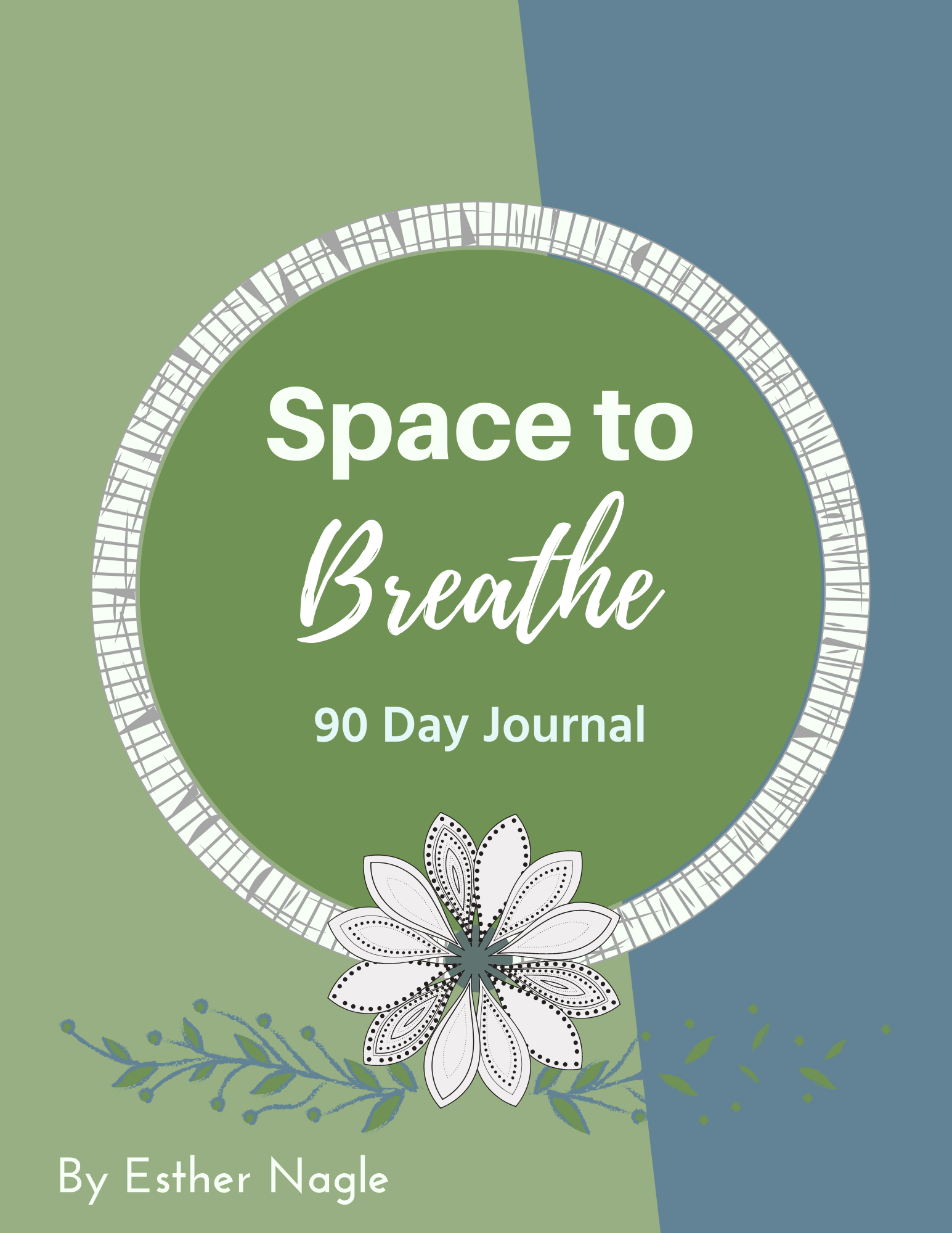 space to breathe journal cover